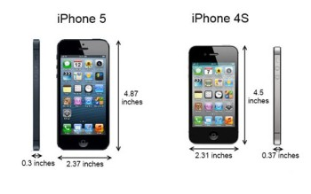 iphone5 vs iphone 4s