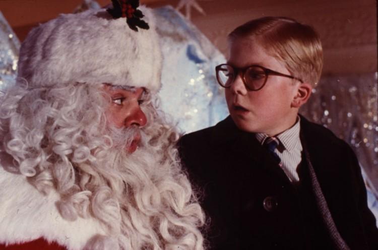 """""""Well, I like you too Santa...(Gulp)"""" ©ThatFilmGuy"""