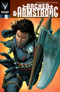 Archer and Armstrong #5 © Valiant Comics
