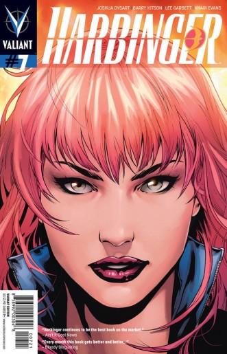 Harbinger #7 © Valiant Comics