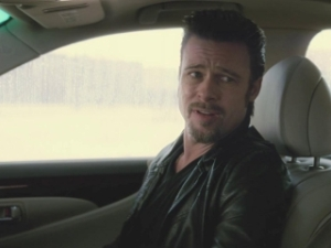 Brad Pitt is sick of your whining, and will turn this car around right now if you don't shut the hell up ©RottenTomatoes