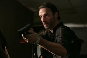 Rick Grimes (Andrew Lincoln) - The Walking Dead - Season 3, Episode 8 - Photo credit: Tina Rowden/AMC