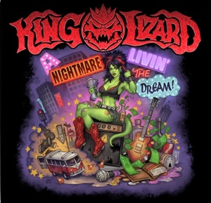 Nightmare Livin' the Dream © King Lizard