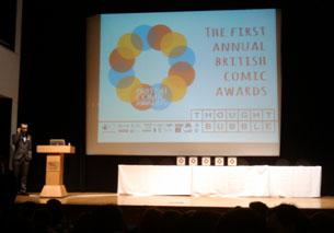 adam cadwell hosting british comic awards