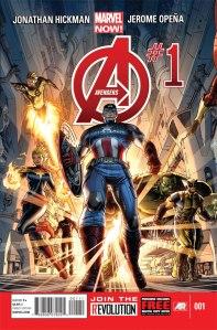 Avengers #1 © Marvel Comics