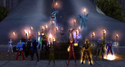 Lighting up Positron's Plinth