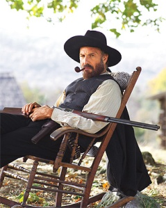 Kevin Costner as Devil Anse Hatfield © timeinc.net