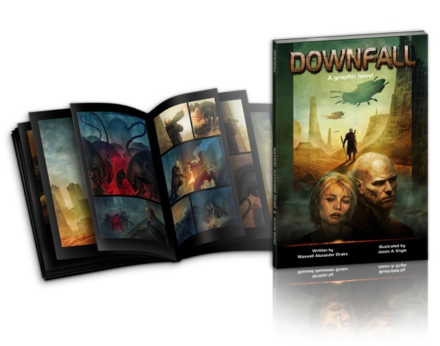 Downfall by Maxwell Alexander Drake